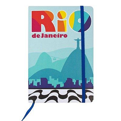 Caderninhos de anotações Cristo Azul - Rio de Janeiro - A5 e A6