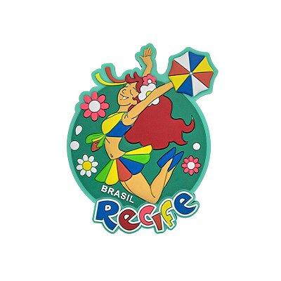 Imã de geladeira histórica - Recife