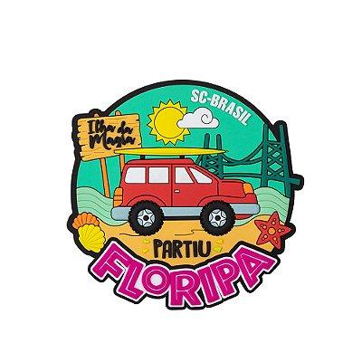Imã de geladeira viagem - Floripa