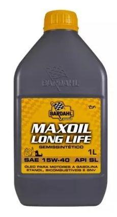 ÓLEO MOTOR BARDAHL SEMISINTETICO MAXOIL LONG LIFE 15W40 SL