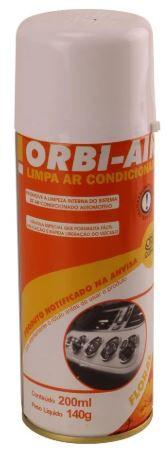 LIMPA AR CONDICIONADO ORBI AIR AROMA FLORAL 200ML