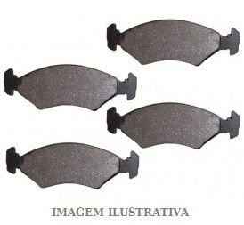 JOGO PASTILHA DIANT FORD F-TEVES VARGA RCPT02670 FISTA-KA