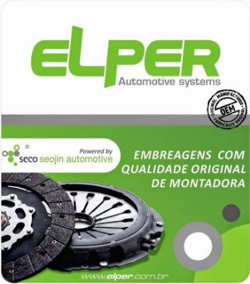 KIT EMBREAGEM HONDA ELPER 80422 CIVIC