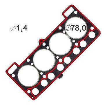 JUNTA CABECOTE VW-FORD ALC-GAS ELRING 555661 ESCORT-GOL