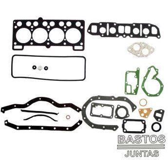 JOGO JUNTAS MOTOR VW-FORD BASTOS 131013PK GOL-ESCORT