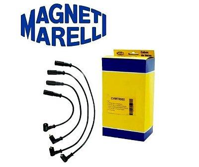 JOGO CABOS VELA FIAT PALIO-UNO MAGNET MARELLI CVMT0902