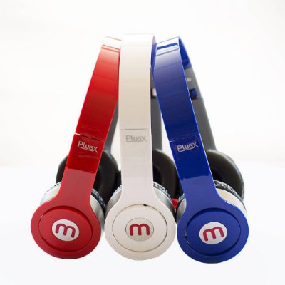 Fone de Ouvido Headphone Com Microfone PERFECTION-Plugx
