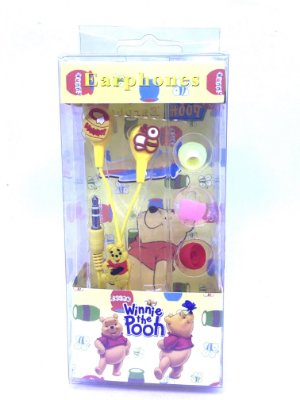 Fone De Ouvido Personalizado Ursinho Pooh Entrada P2 Estampa Sortida