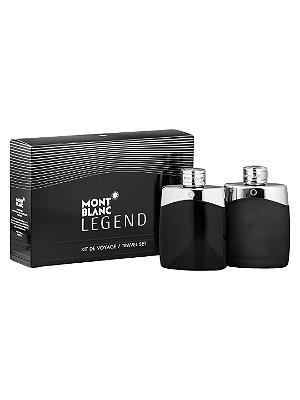 Kit Legend Eau de Toilette Montblanc - Perfume Masculino 100 ML + Loção Loção Pós-barba 100 ML