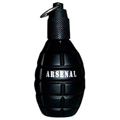 Arsenal Black Eau de Parfum Gilles Cantuel - Perfume Masculino - 100ml