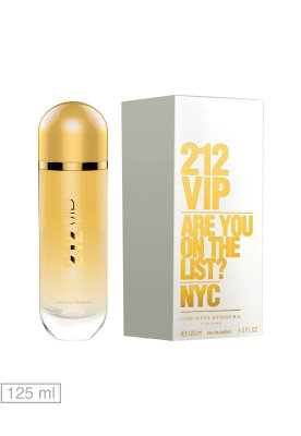 Téster 212 Vip Eau de Parfum Carolina Herrera - Perfume Feminino 125 ML