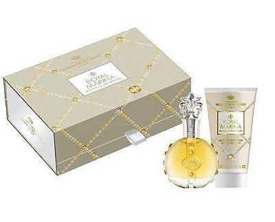 kit Royal Marina Diamond Eau de Parfum Marina de Bourbon - Perfume 100ml + Loção Corporal 150ml