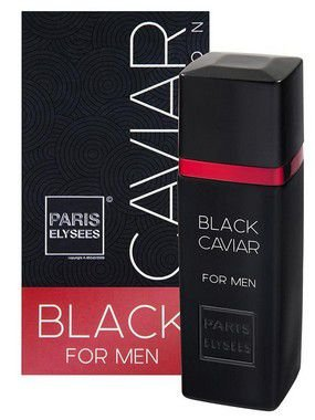 Black Caviar Black For Men Paris Elysees - Perfume Masculino 100ML