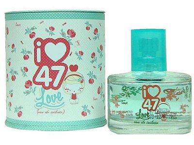 Perfume I47 Street Love  Eau de Toilette  Feminino - 60ml