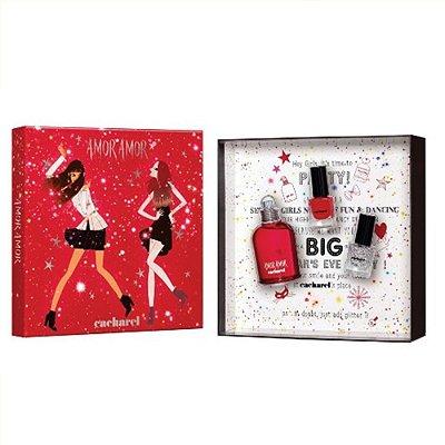 Amor Amor Eau de Toilette Cacharel - Kit de Perfume Feminino 50ml + 2 Esmaltes