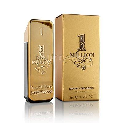Miniatura 1 Million Eau de Toilette Paco Rabanne - Perfume Masculino - 5ML
