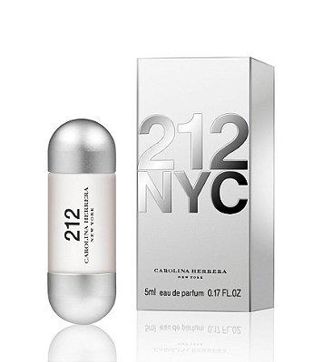 Miniatura 212 NYC Eau de Parfum Carolina Herrera - Perfume Feminino 5ML