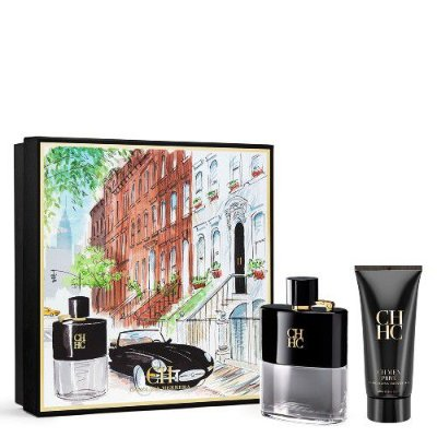 Kit CH Men Privé Carolina Herrera -Perfume Masculino Eau de Toilette 100ml + Pós Barba 100ml
