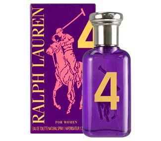 Tester Big Pony Purple 4 For Women Ralph Lauren Eau de Toilette - Perfume Feminino
