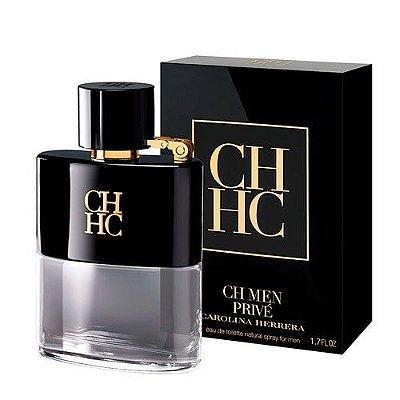 Miniatura CH Men Privé Eau de Toilette Carolina Herrera - Perfume Masculino 7 ML