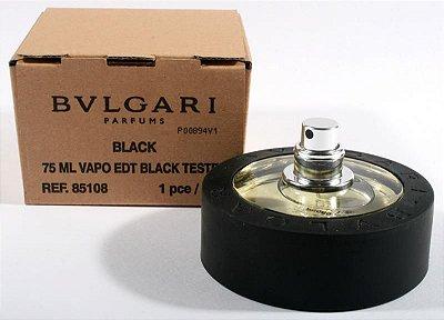 Téster Bvlgari Black Eau de Toilette- Perfume Unissex 75 ML