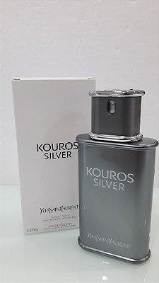 Téster Kouros Silver Eau de Toilette Yves Saint Laurent - Perfume Masculino 100 ML