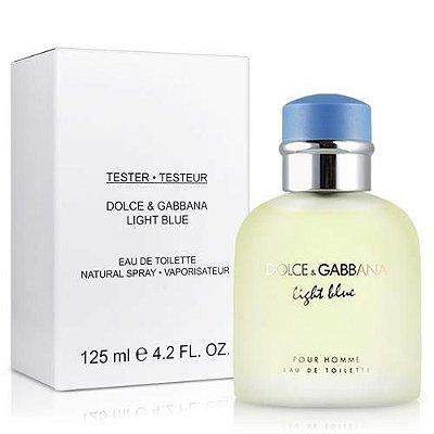 Téster Light Blue Masculino Eau de Toilette Dolce & Gabbana 125 ML