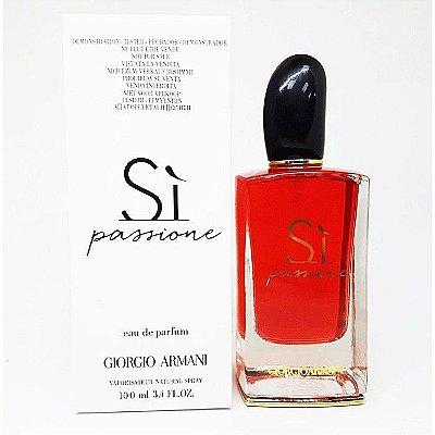 Tester Sì  Passione Eau de Parfum Giorgio Armani - Perfume Feminino