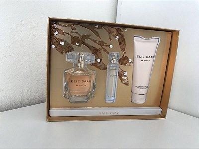 kit Elie Saab Eau De Parfum 90 ML + Miniatura de 10 ML + Body Lotion 75ml