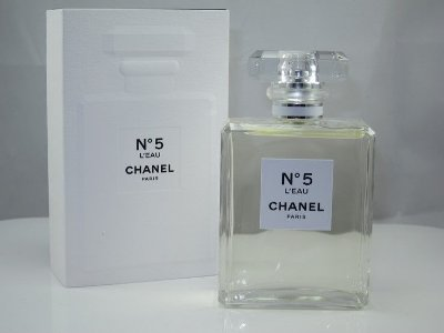Tester Chanel Nº 5 L´Eau Eau de Toilette Chanel - Perfume Feminino 100ML