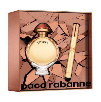 kit Olympéa Intense Eau De Parfum Paco Rabanne - Perfume Feminino 50 ML + Miniatura 10 ML
