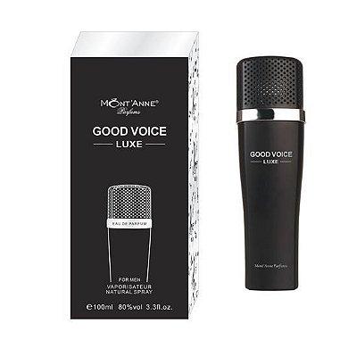 Good Voice Luxe Eau de Parfum For Men 100ml - Perfume Masculino