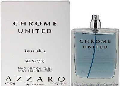 Téster Chrome United Eau de Toilette - Perfume Masculino 100 ML