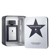Kit The Secret Masculino Eau de Toilette Antonio Banderas- Perfume 100 ML + Perfume 10 ML