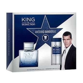 Kit King of Seduction Eau de Toilette Masculino Antonio Banderas 100 ML + Desodorante 150 ML