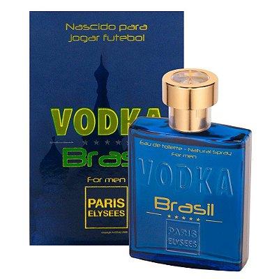 Vodka Brasil For Men Eau de Toilette Paris Elysees 100 ML