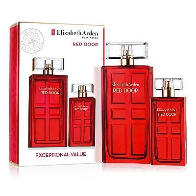 Kit Red Door Eau de Toilette Elizabeth Arden - Perfume 100ML + Perfume Miniatura de 30 ML