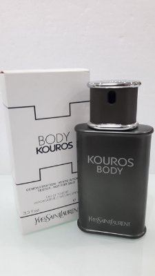 Téster Body Kouros Eau de Toilette Yves Saint Laurent - Perfume Masculino 100 ML