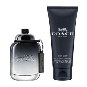 Kit Perfume Coach for Men Eau de Toilette 60ml +  Gel de Banho 100 ML