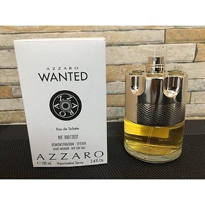Tester Azzaro Wanted-Perfume Masculino Eau de Toilette 100 ML