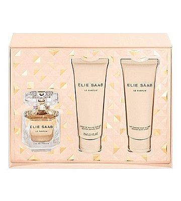 Kit Elie Saab Eau De Parfum 50ML + Body Lotion 75ML + Gel de Banho 75 ML - Perfume Feminino