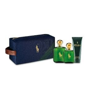 Kit Polo Eau de Toilette Ralph Lauren - Perfume Masculino 118 ML + 59 ML + Pós Barba 100 ML