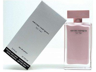 Téster Narciso Rodriguez For Her Eau de Parfum Feminino 100 ML