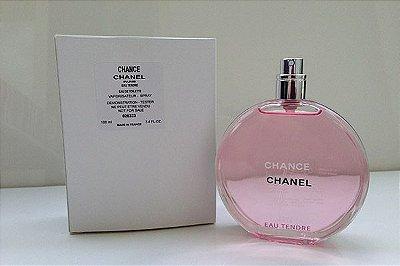 Tester Chance Eau Tendre Eau de Toilette Chanel - Perfume Feminino 50 ML