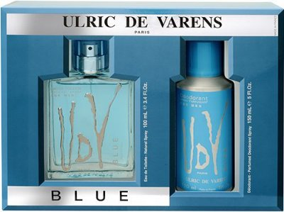 Kit UDV Blue Ulric de Varens - Perfume Masculino Eau de Toilette 100 ML+ Desodorante 150 ML