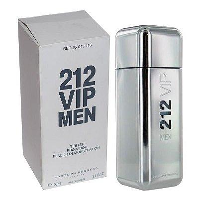 Tester 212 Vip Men Eau de Toilette Carolina Herrera - Perfume Masculino - 100ML