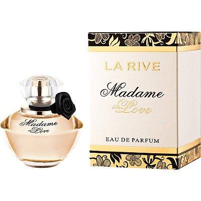 3 Unidades Madame In Love Eau de Parfum La Rive - Perfume Feminino 90ml