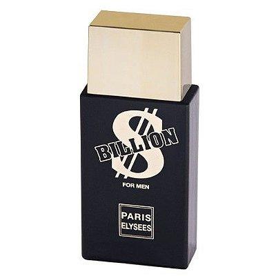 Billion Eau de Toilette Paris Elysees - Perfume Masculino 100 ML