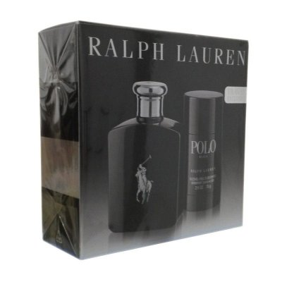 Kit Ralph Lauren Polo Black 125 ml + Desodorante 75g