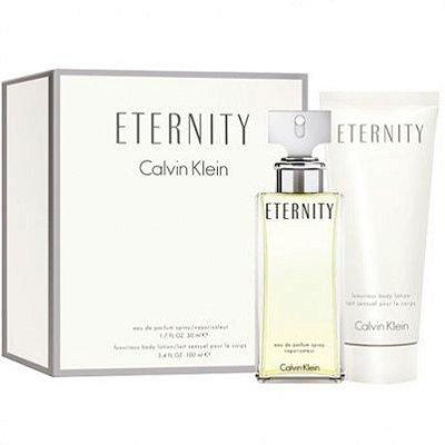 Kit Eternity Feminino Calvin Klein-Perfume Eau De Parfum 100ml + Hidratante  Corporal 100ml f0477afb53